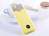 新款超时尚背夹式移动电源  for iphone5手机充电宝