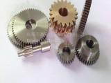 供应优质精密铜齿轮 左右螺旋齿轮滚齿加工