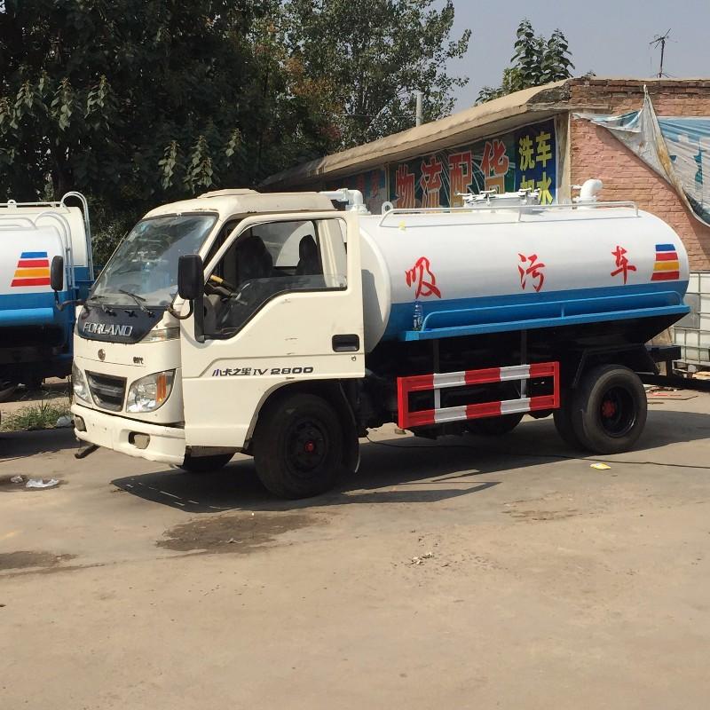 江苏二手吸粪车市场 3吨5吨小型二手吸粪车 现货 货到付款