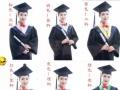 毕业照 认真而美丽的回忆 服装及摄像摄一体