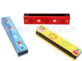 奥尔夫乐器 木制玩具 儿童卡通口琴 吹奏玩具 幼儿园专用