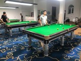 山西太原英森国际台球桌 中式黑八钢库球台 打感好 配置高