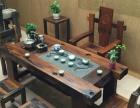 鹰潭市老船木家具茶桌椅子沙发茶几茶台餐桌博古架办公桌罗汉床