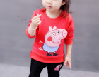 石狮新款儿童秋装打底衫批发四五岁小朋友时尚卫衣牛仔裤特价批发