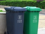 翻蓋小區垃圾桶