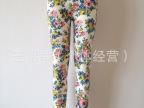 2014夏季 HM印花莫代尔七分裤 韩国版时尚大码女打底裤批发