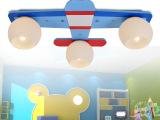 儿童卧室灯 飞机灯儿童房吸顶灯男孩LED灯具卡通创意灯饰儿童吊灯