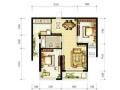 丽景华庭 2室2厅1卫 86.58平米