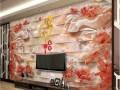 专业制作背景墙就选潮印天下