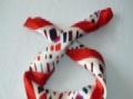 丝巾定做领带订制年会庆典红围巾定做厂家广告帽子定做印标
