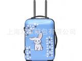 小兔子印花拉杆箱 原创卡通形象系列旅行箱 小号登机箱 定制