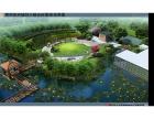 广州温泉度假村景观,景观设计公司