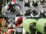 山东聚氨酯滚轮,异形定做包胶承载轮,滚轮架轮