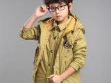 新款秋冬儿童童装外套男童韩版加厚棉衣服保暖夹棉 两件套 马甲