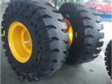 50铲车轮胎实心轮胎厂家批发23.5-25工程轮胎型号齐全