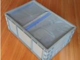 PVC透明夹网布 周转箱防尘帘 中空板防尘帘