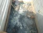 泰安市化工厂污水处理机房渗水维修堵漏施工