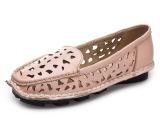 2015新款夏季夏天凉鞋洞洞鞋真皮平底妈妈鞋 温州休闲女鞋子批发