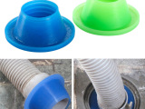 实用圆形管道防臭硅胶密封圈 洗衣机水池下