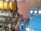 回收二手发电机、进口国产高底速发电机组