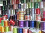 专业生产门襟带 电光带 真丝带 压折带LOGO丝带
