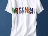 夏季纯棉女装可选款白T恤个性图案批发