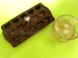 食品级心形硅胶巧克力模