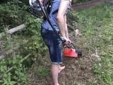 小型锄地机 锄地机多少钱一台 背负式除草机