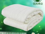100%纯棉花棉被 白被芯春秋冬被子 质量保证 军工技术棉胎 环
