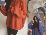 秋季女装学生宽松棒球服连帽外套潮韩版学院