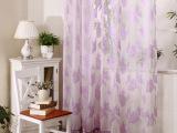 【红粉倾情】欧式现代女神爆款 防紫外线隔热遮光提花窗纱窗帘布