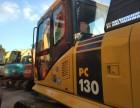 小松挖掘机130二手小型挖掘机