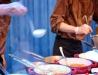 企业年会宴会 主题策划 会场布置 冷餐茶歇