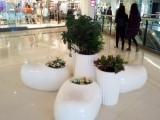 高档玻璃钢时尚椅 玻璃钢创意休闲椅 欧式组合玻璃钢花盆