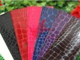 充皮纸厂家直销高亮鳄鱼纹充皮纸,亮度高,高档包装优选。