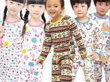 爆款 儿童保暖内衣男童女童时尚百搭加绒加厚内衣套装