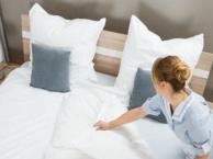家庭酒店民宿卫生保洁、布草更换、易耗品提供