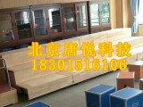 校园音乐教室三层木质伸缩活动舞台