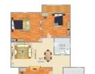 大社区,生活交通方便,3室2厅2卫2000