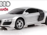 电动模型合金车 玩具车 128奥迪R8遥控跑车 四通遥控车 厂家