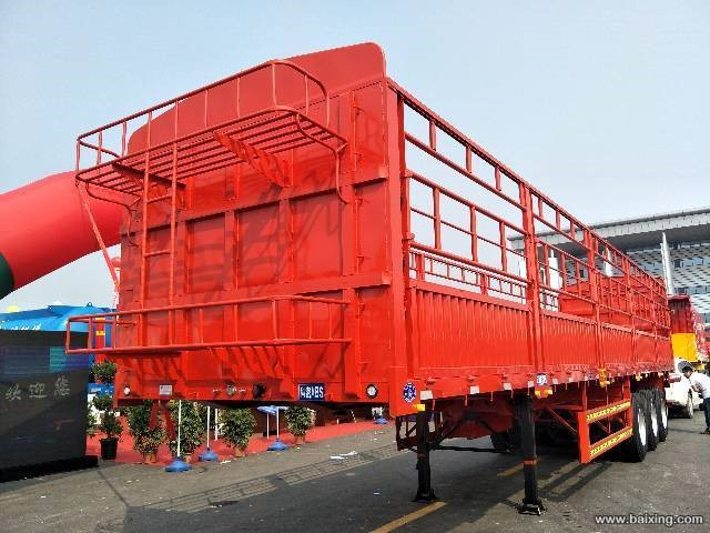 厂家精品制造13米苍蓝半挂车 全国发货
