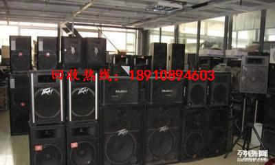 高价回收舞台进口音响设备 酒吧KTV录音棚等音响设备无线话筒
