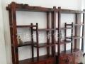 铁岭老船木茶桌椅组合批发仿古泡茶桌中式明清家具