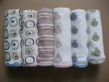 出口外贸原单婴儿包巾方毯宝宝浴巾包被