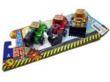 滑行工程车小玩具 模型礼物 儿童创意 义乌地摊货源批发 热卖