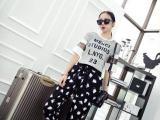 2014夏季新品潮 白色印记 女薄款长裤 A051
