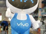 VIVO活动卡通气模人 充气手机模型