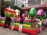 杭州市秋季充气城堡室外儿童娱乐设备出租