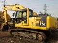 小松200-8二手挖掘机价格 二手挖掘机市场