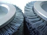 定做 耐磨尼龙刷丝刷辊 除尘除锈刷辊 打磨毛刷 磨料丝刷辊